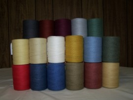 Colored 8/4 Poly-Cotton Warp